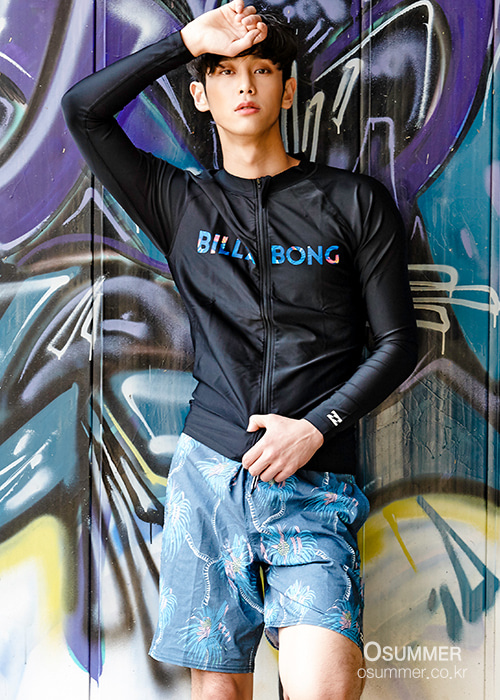 빌라봉 남성 집업 래쉬가드/BILLABONG M5-004 SMU ZIP-UP RASHGUARD(AH011H03)_TBL_NBI72253/S7BI72253