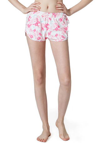 [5%쿠폰] 배럴 우먼 비키니 커버-업 숏츠 #OB6608IV / BREEZE (IVORY PINK) BARREL_ WMS BIKINI COVER UP SHORTS