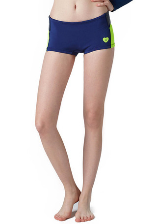 [5%쿠폰] 배럴 우먼 웨이브 네오프렌 숏 팬츠 1mm #OB6602NV / NAVY/N.YELLOW BARREL_ WMS WAVE NEOPRENE SHORT PANTS (1mm)