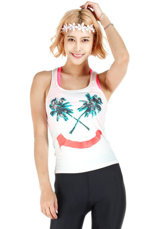 빌라봉 우먼 래쉬가드#NBI526EP / COOLWIP BILLABONG_ WOMENS RASHGUARD  WMS PALM SMILE