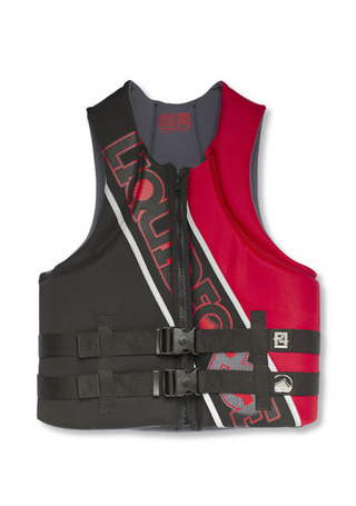리퀴드포스 남성 부력조끼/베스트 LIQUID FORCE HINGE M (100)ENS CGA VEST_BLK/RED_NL2604YH