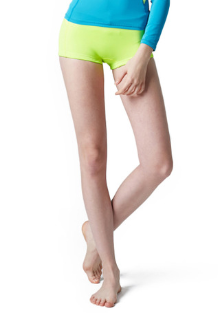 [5%쿠폰] 배럴 우먼 웨이브 네오프렌 숏 팬츠 1mm #OB6602YE / NEON YELLOW BARREL_ WMS WAVE NEOPRENE SHORT PANTS (1mm)