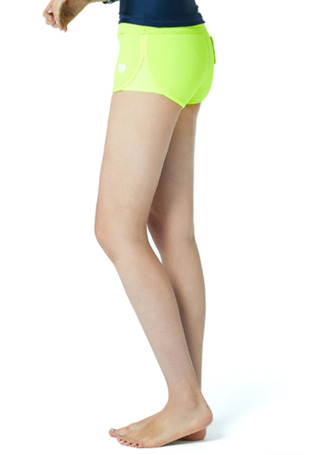 [5%쿠폰] 배럴 우먼 카프리 네오프렌 숏 팬츠 #OB6744Y2 / NEON YELLOW BARREL_ WMS CAPRI NEOPRENE SHORT PANTS