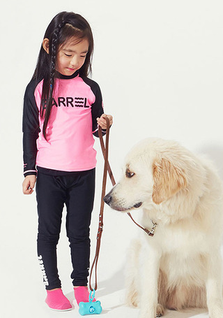 5%쿠폰/배럴 주니어 워터 레깅스/BARREL KIDS WATER LEGGINGS(BW5KLGB006)_BLACK_OB6631BK/SZB6631BK