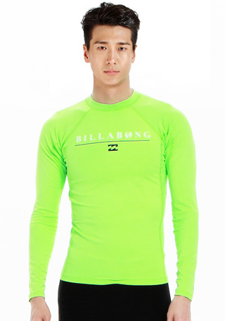 빌라봉 남성 래쉬가드/BILLABONG ALL DAY LS(MWLY5ALL)_NGN_NBI410GN/S7BI410GN