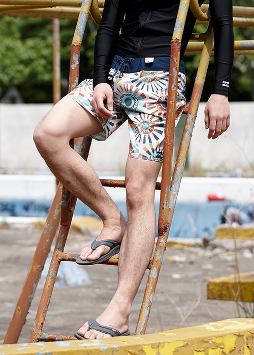 "빌라봉 남성 보드숏 19"" #OBI804SN / SND BILLABONG MENS BOARDSHORT M120NBSU SUNDAYS X BOARDSHORTS"
