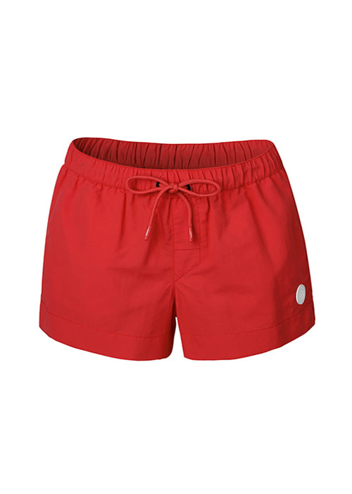 [5%쿠폰] 배럴 우먼 솔리드 보드숏 OB6921RE [B022] / RED BARREL WMS SOLID BOARDSHORTS BWIWBDB001