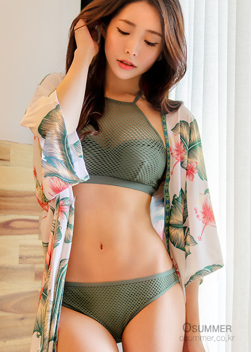 록시 여성 비키니 수영복 세트 NRY929KH[B046] / GPL0 ROXY WOMENS BIKINI TWO-PIECE SET WMS GARDEN SUMMERS FU CROP FU BOT_ERJX203339