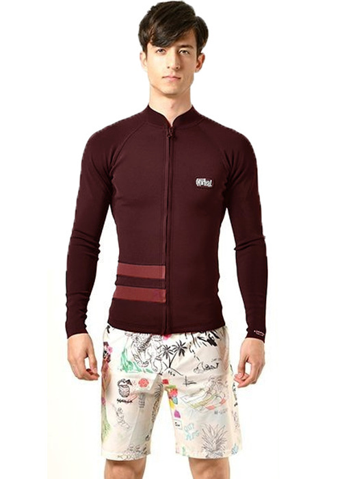 헐리 남성 웻슈트 자켓/타파 1mm/HURLEY ADVANTAGE PLUS GRAPHIC 1/1 JACKET(AR0648)_613(BURGUNDY ASH)_NHU903BG/S3HU903BG