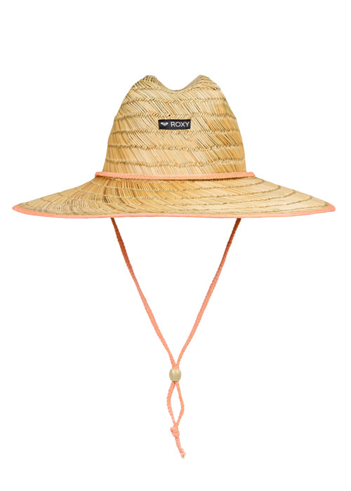 록시 키즈 밀짚모자/ROXY GIRLS TOMBOY STRAW LIFEGUARD HAT(ERGHA03132)_MFG0_IRY910NA_FIRY910NA