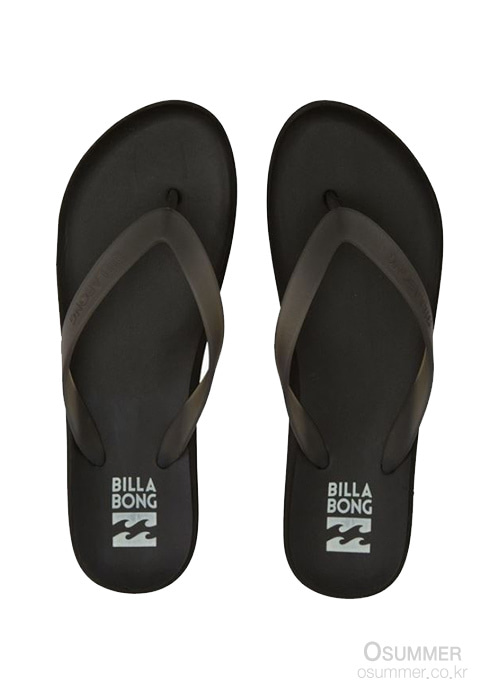빌라봉 여성 플립 플랍 샌들/BILLABONG WMS BEACH BREAK/JFOT1BBE-BLK(BLACK)_S5BI010BK