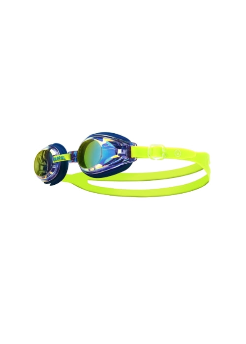 5%쿠폰/배럴 키즈 미러 스윔 고글_BARREL(18)_BWIKSWA001_KIDS MIRROR SWIM GOGGLES_BLUE/M NEON YELLOW_SGB6007YB