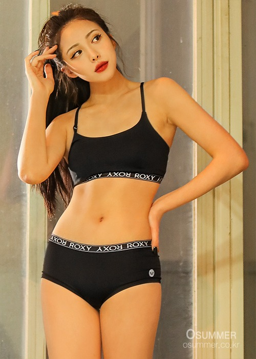 록시 여성 브라탑/ROXY WMS NEW ALL DAY CROSS BRA_RBR205203-BLK (BLK)_NRY018BK_RA23UT313/SNRY018BK